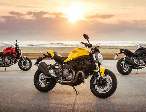 The naked Ducati marks 25 years with Monster 821 special