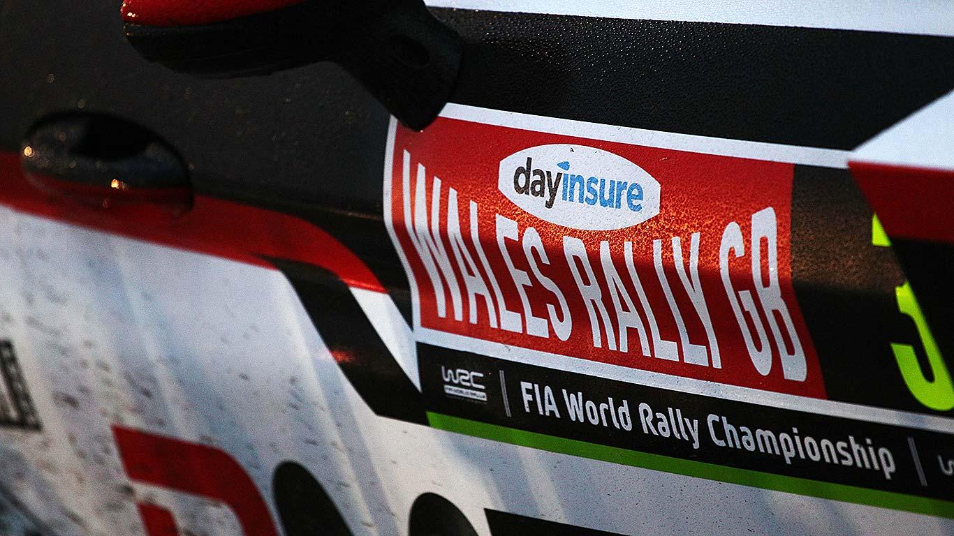Elfyn Evans Wales Rally GB 2017