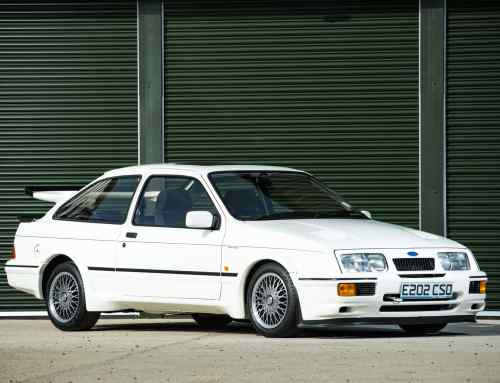 Could this be the most expensive Ford Sierra Cosworth in the world?