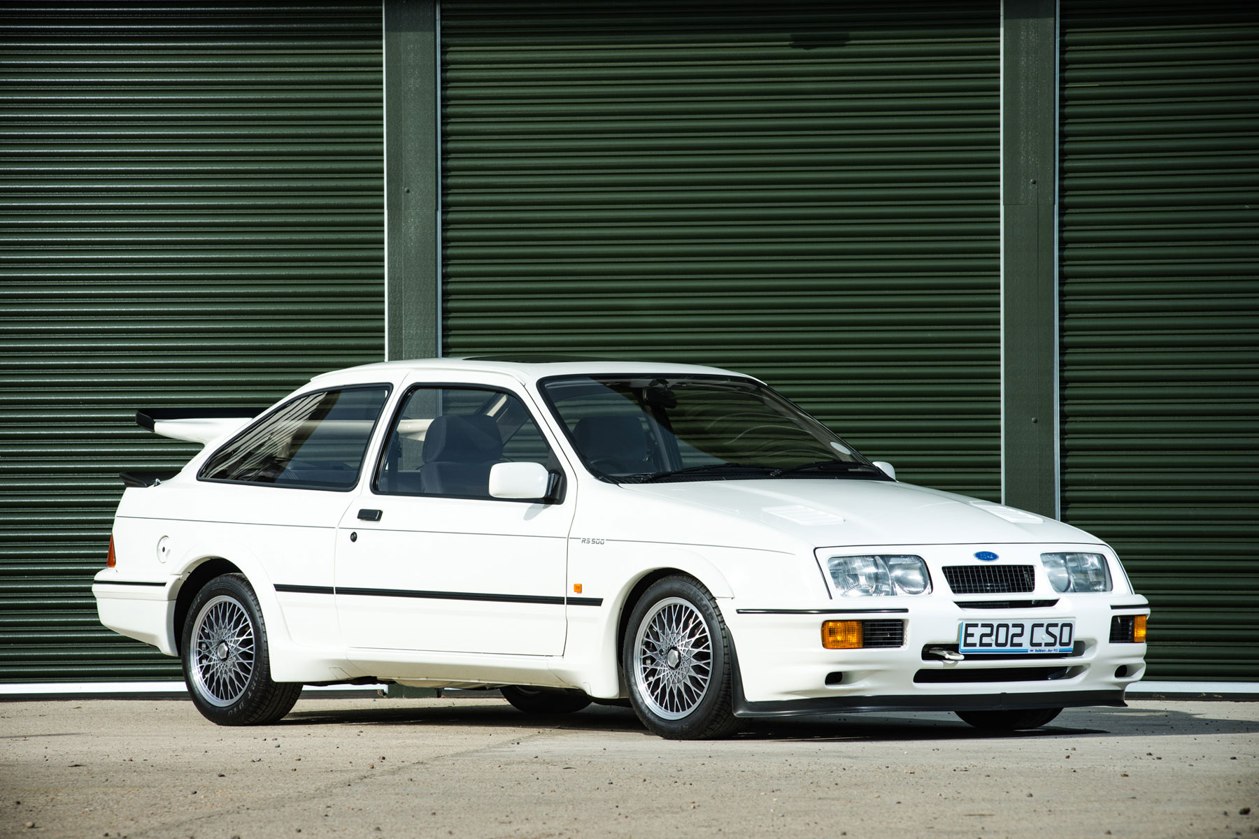 could this be the most expensive ford sierra cosworth in the world motoring research. Black Bedroom Furniture Sets. Home Design Ideas