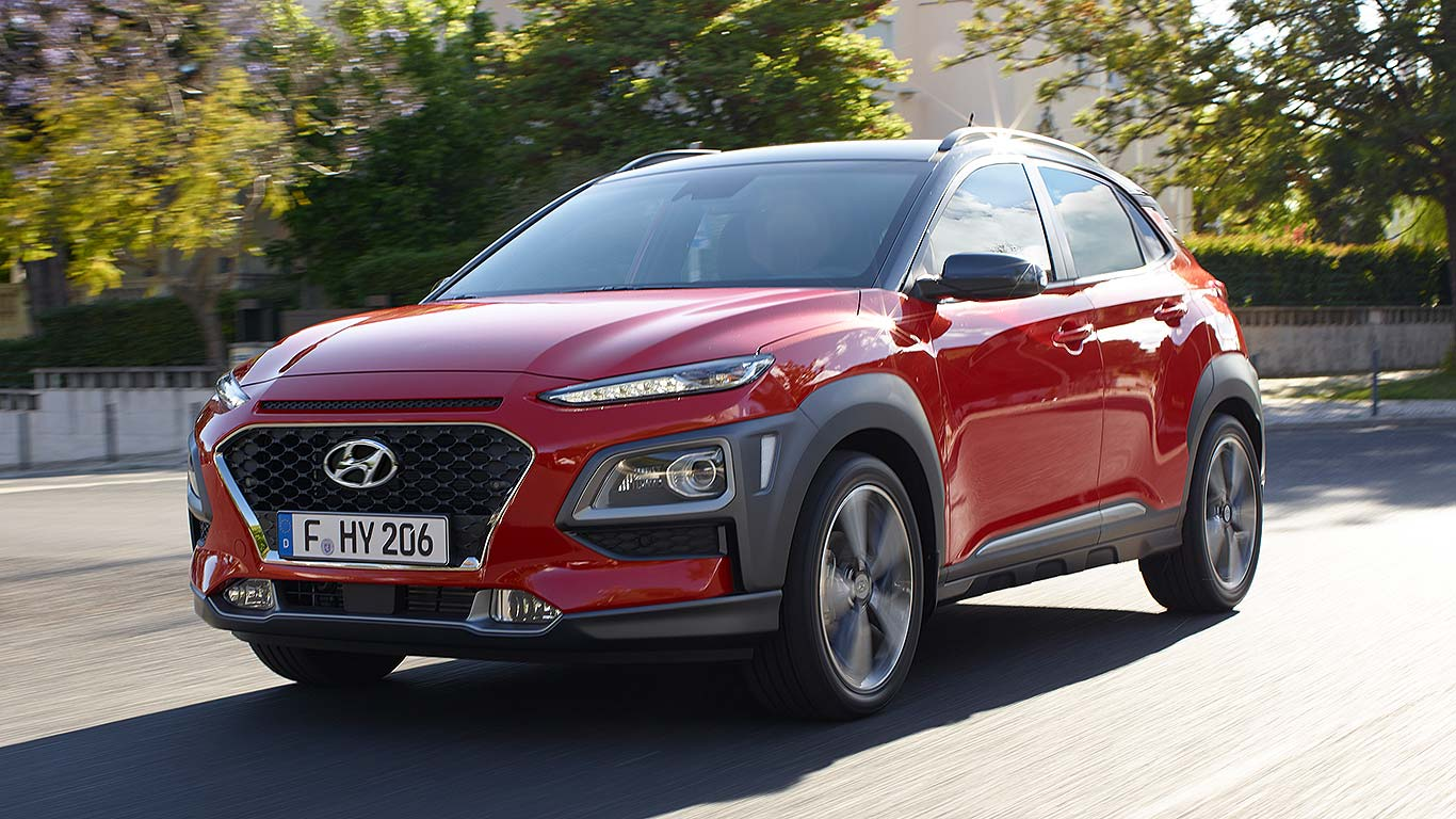 new hyundai kona small suv prices from 16 195 motoring research. Black Bedroom Furniture Sets. Home Design Ideas