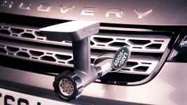 Jamie Oliver Land Rover Discovery kitchen