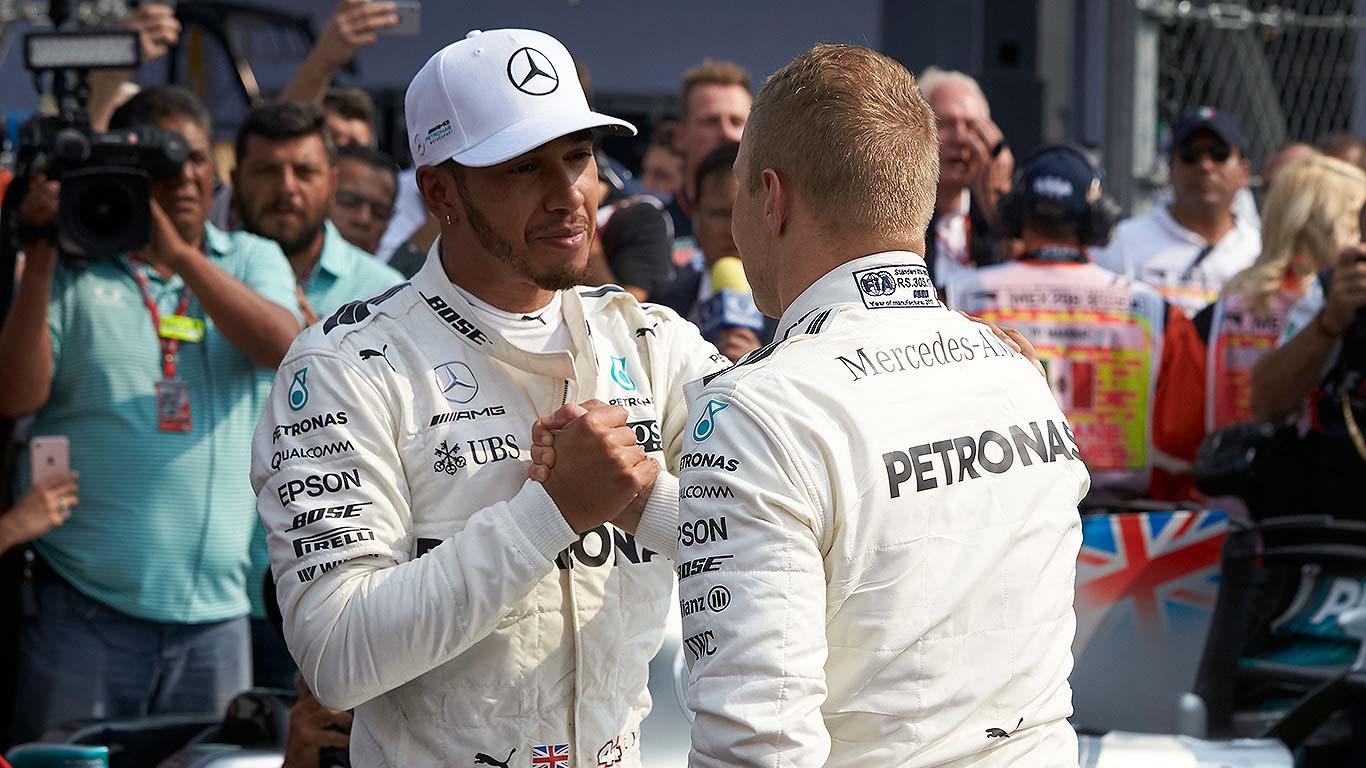 Lewis Hamilton F1 World Driver's Champion 2017