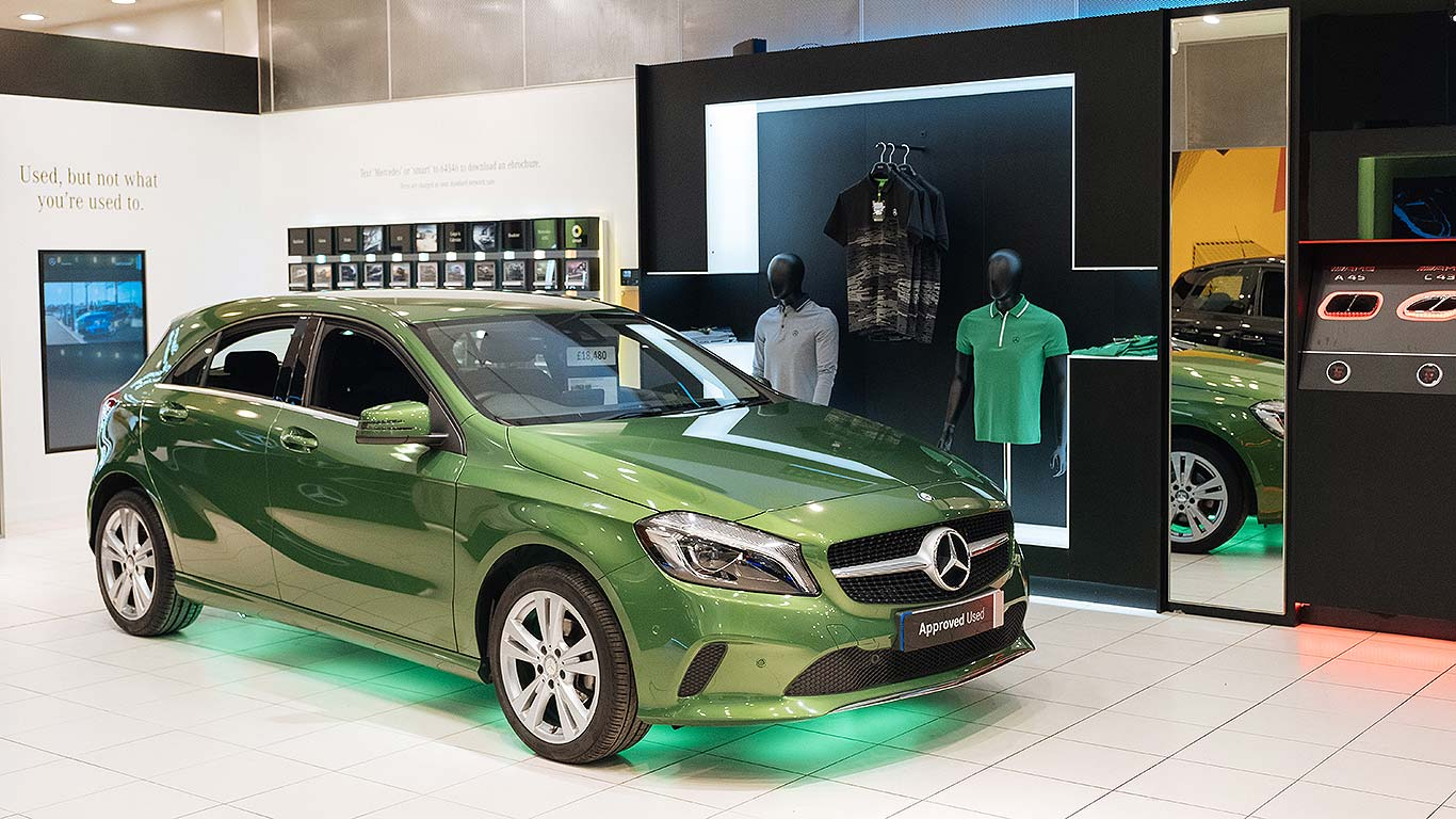 Mercedes-Benz Pop-Up Shop
