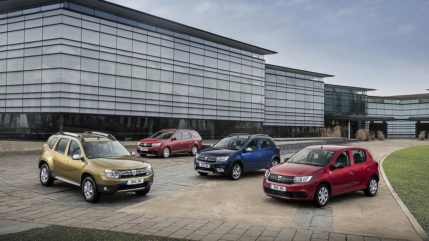 New Dacia range