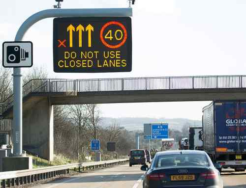 £100 fine for flouting red X motorway signs planned