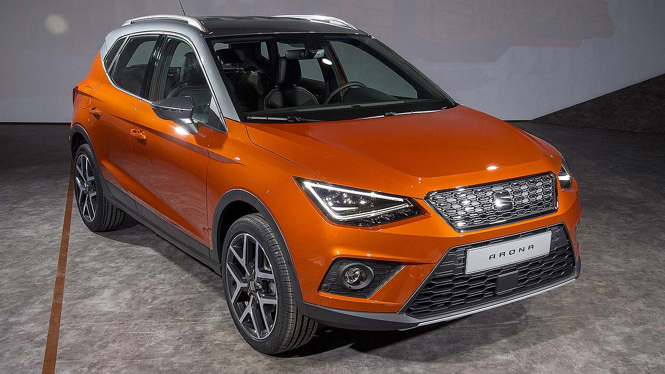 seat arona small suv prices to start from 16 555 motoring research. Black Bedroom Furniture Sets. Home Design Ideas