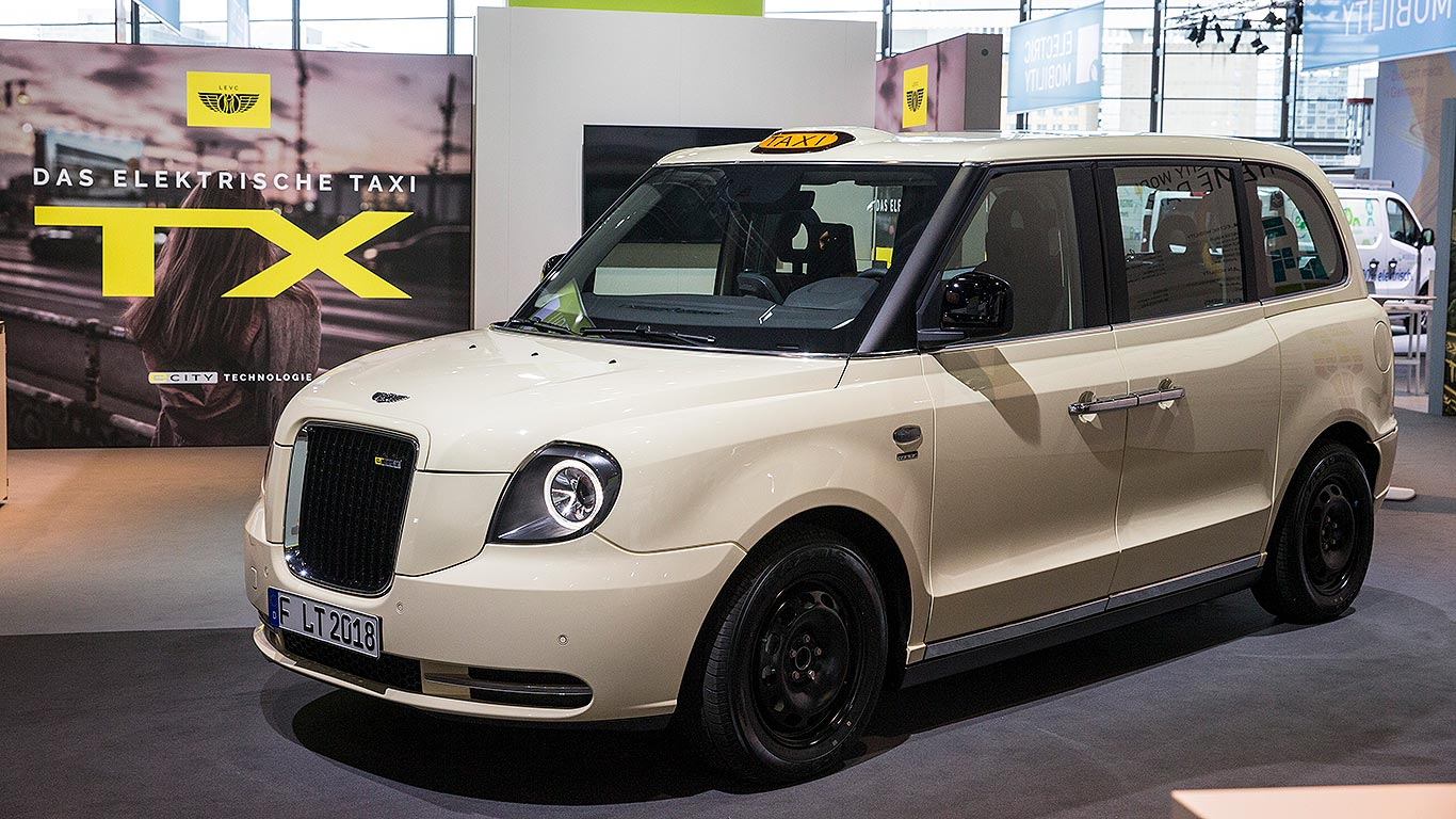 London Electric Vehicle Company Taxi