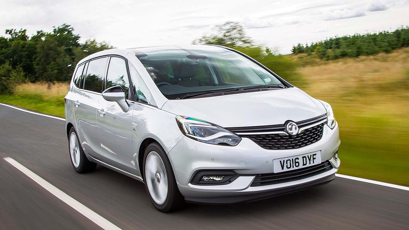 vauxhall zafira tourer 7 seater now has a wifi hotspot for every passenger motoring research. Black Bedroom Furniture Sets. Home Design Ideas