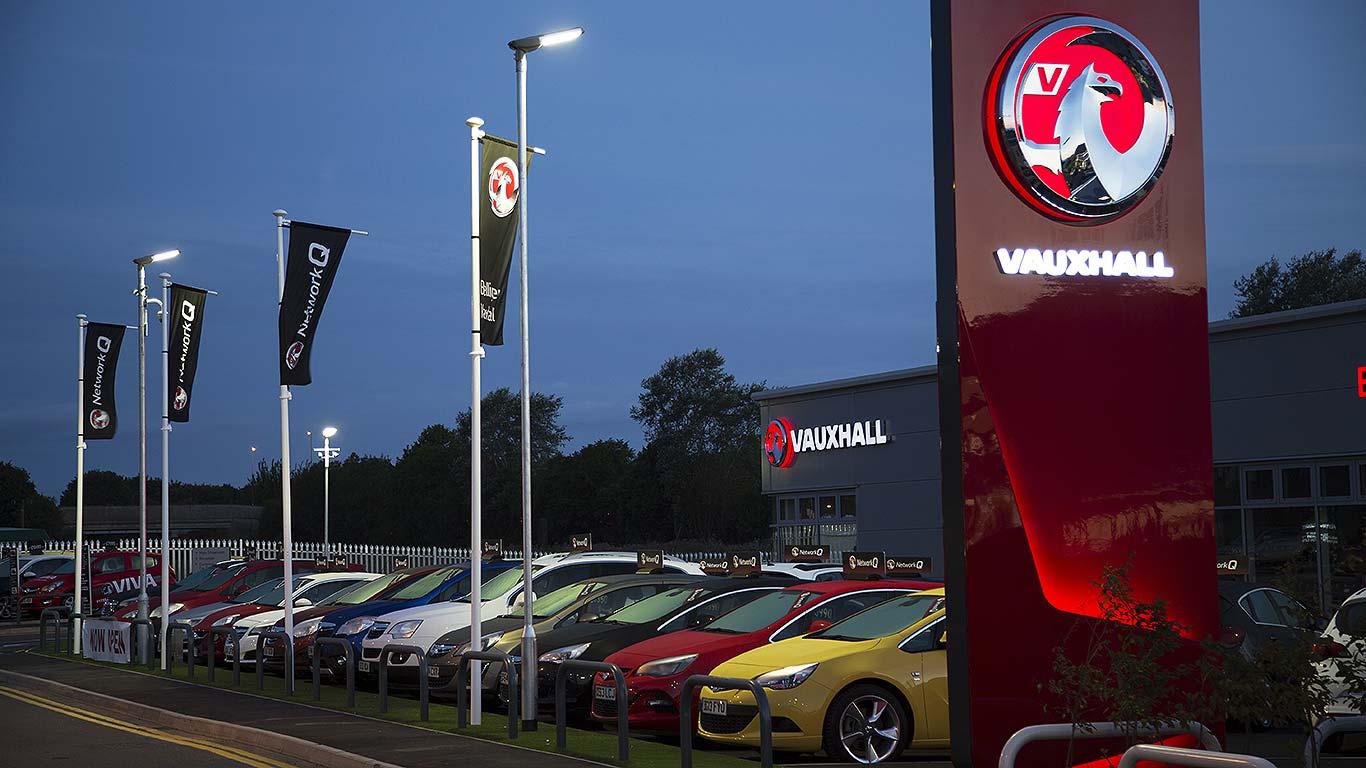 Vauxhall car dealer