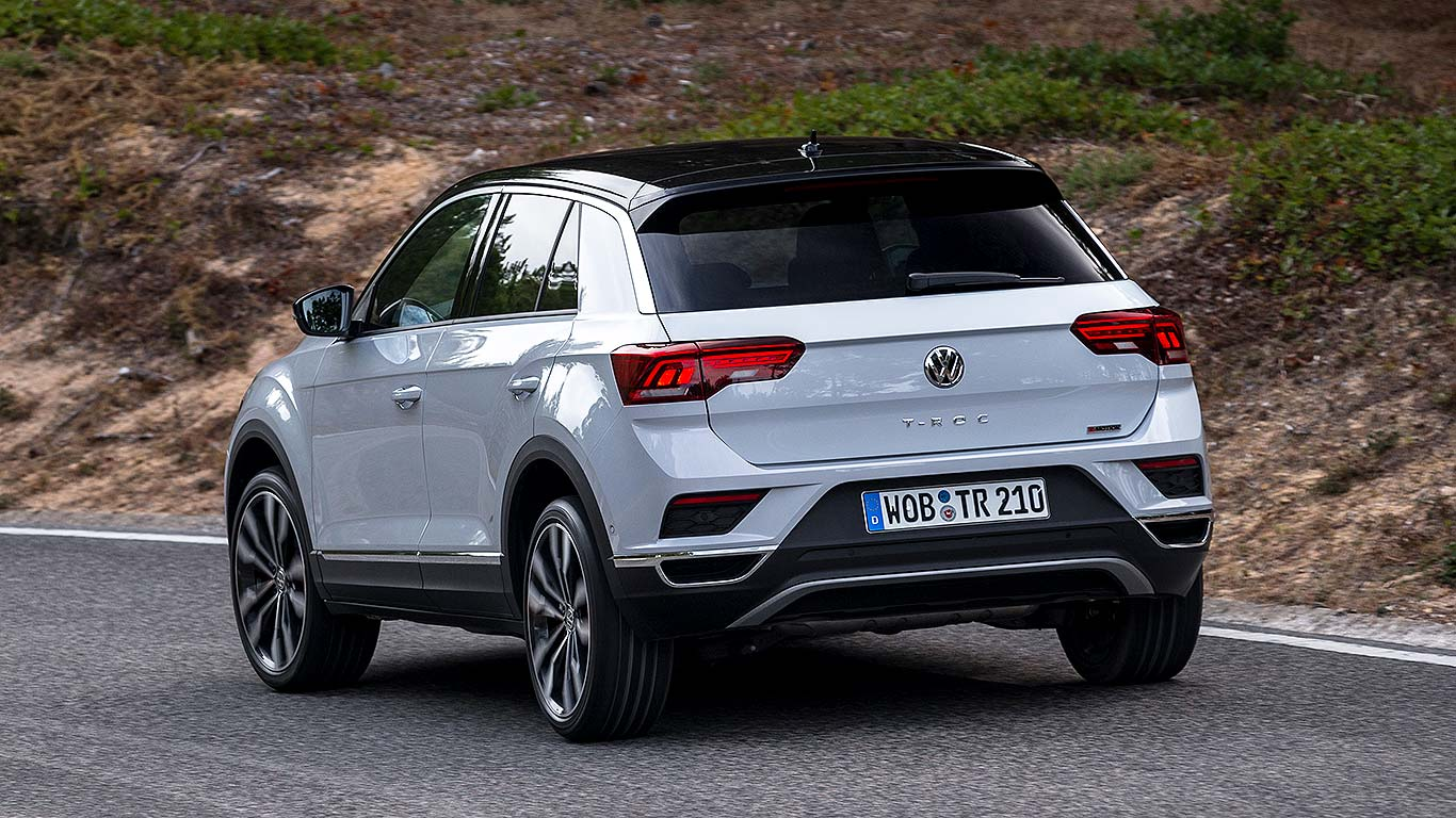 volkswagen t roc 2018 first drive review motoring research. Black Bedroom Furniture Sets. Home Design Ideas