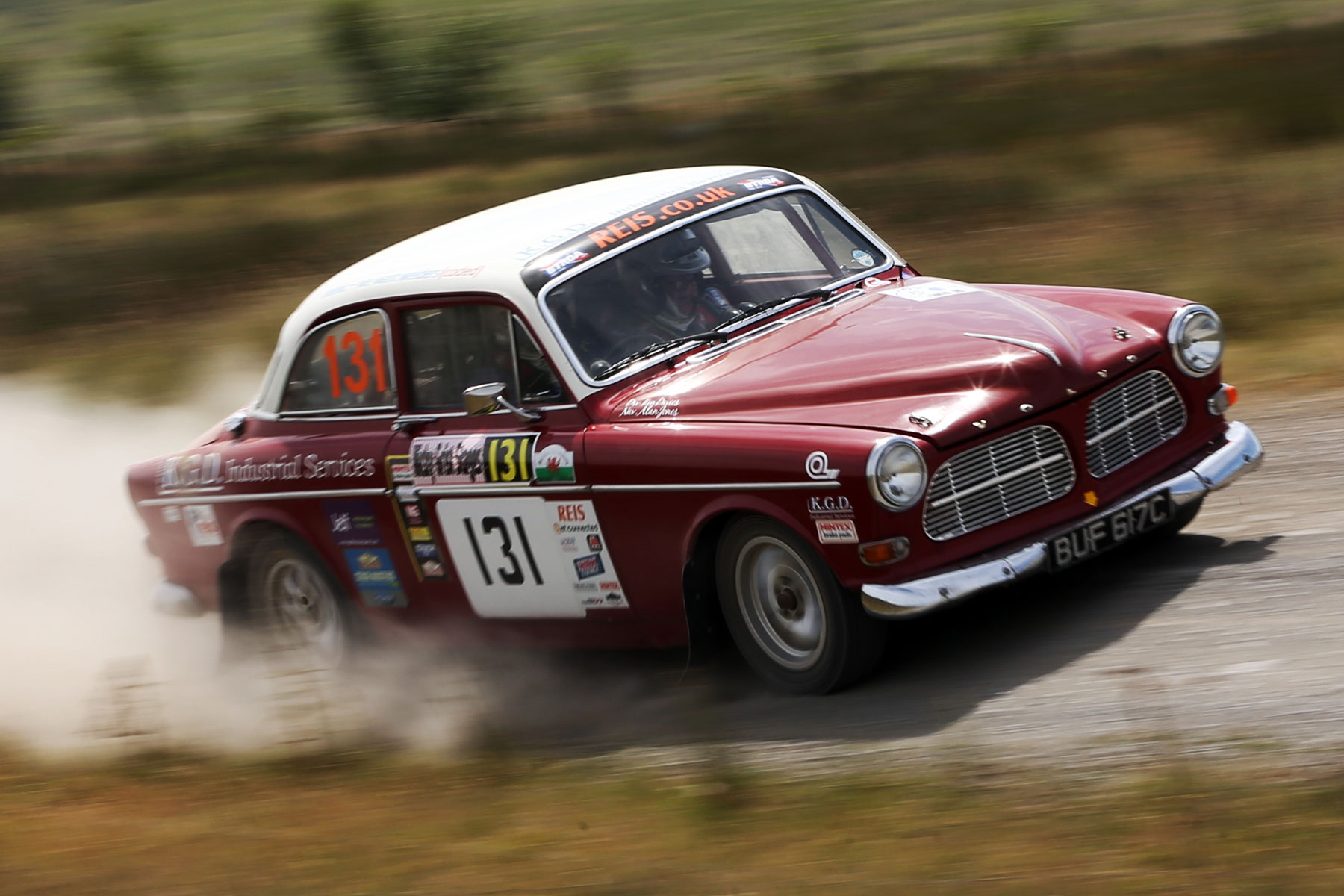 Volvo Amazon WRGB National Rally