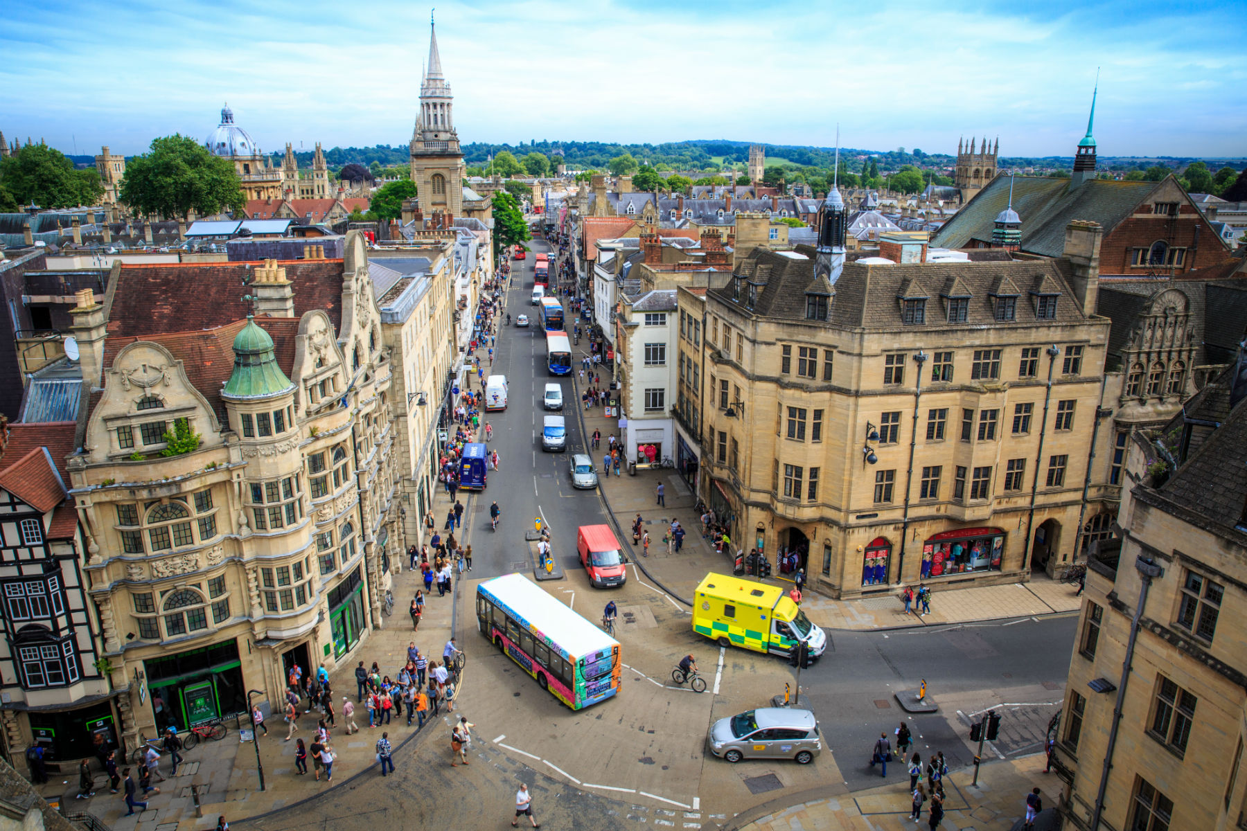 Oxford Zero Emission Zone: everything motorists need to know