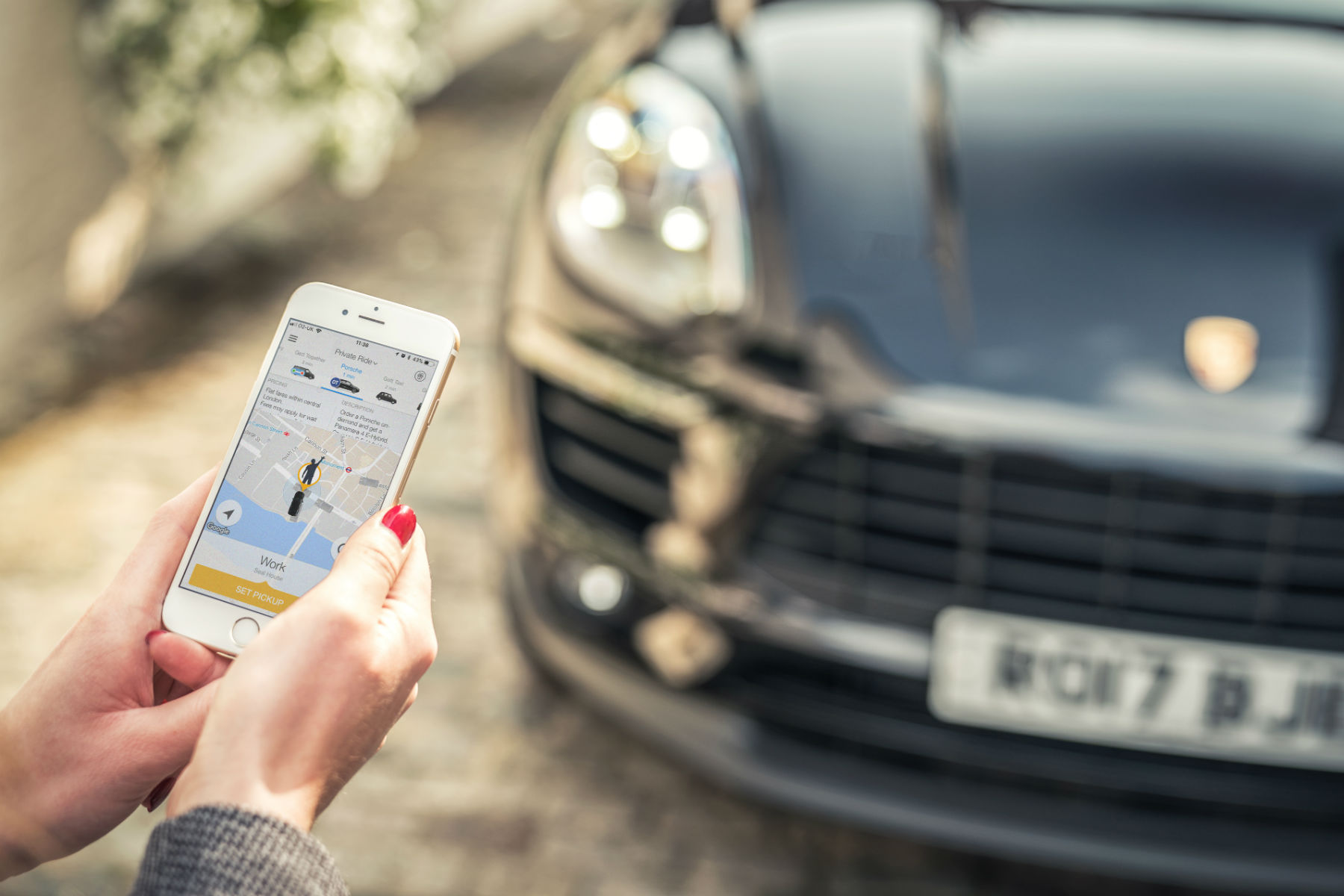 Watch out Uber: Porsche taxi rides are coming to London