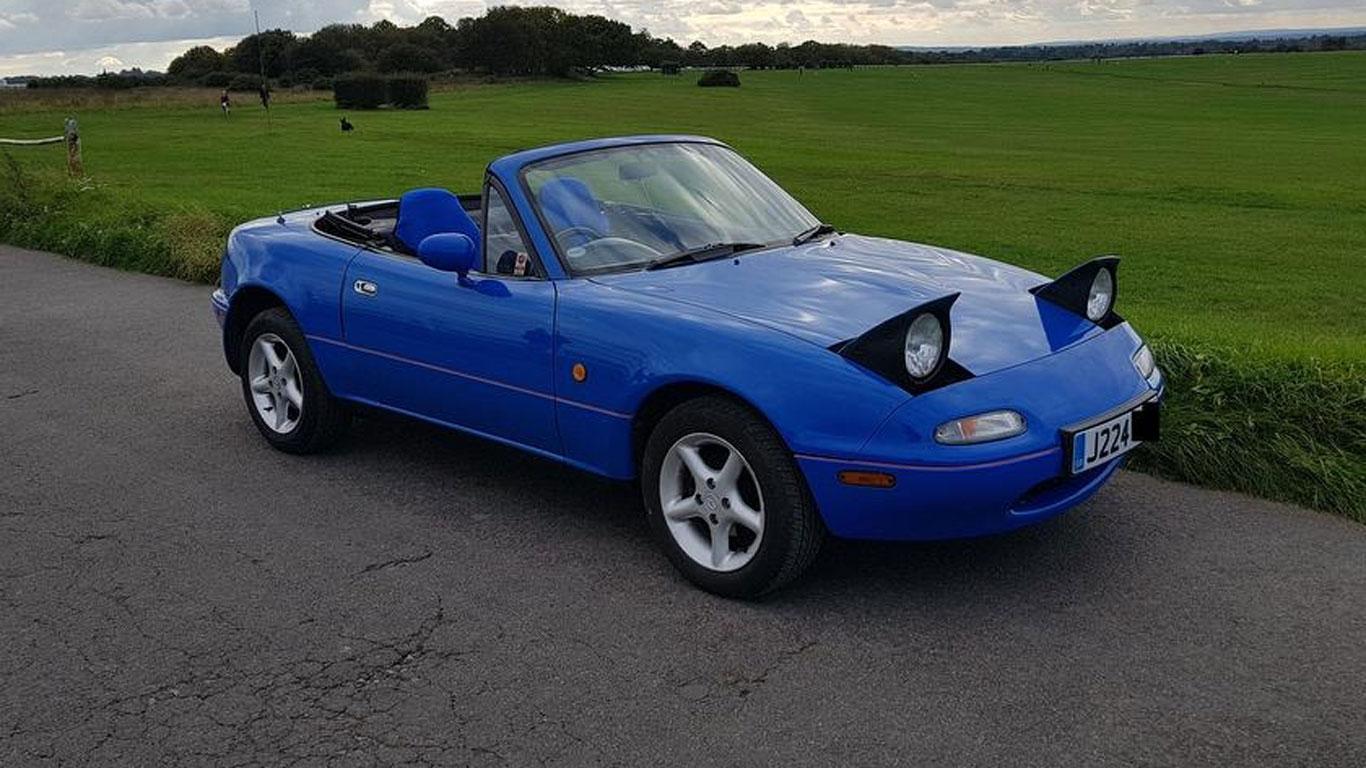 Mazda MX-5: £1,395