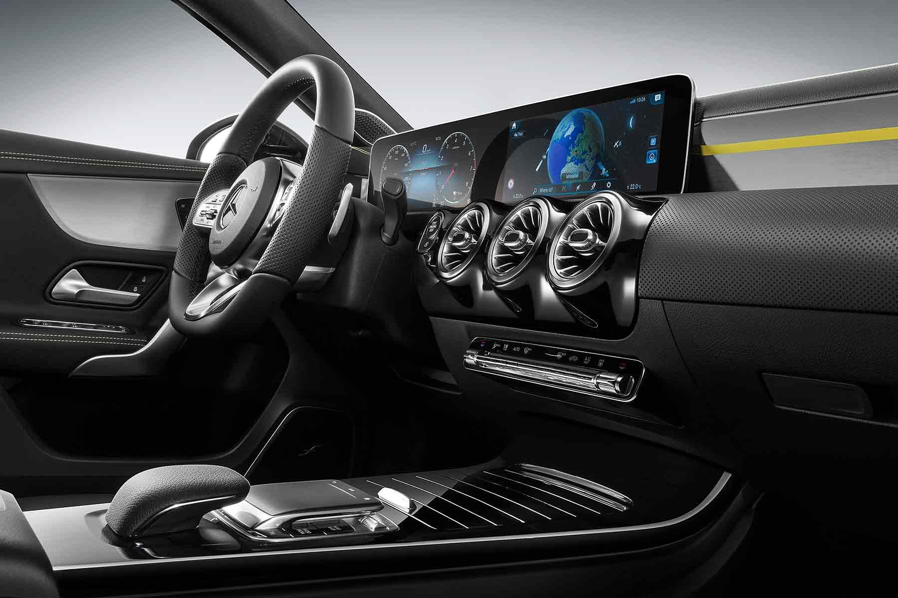 2018 Mercedes-Benz A-Class interior