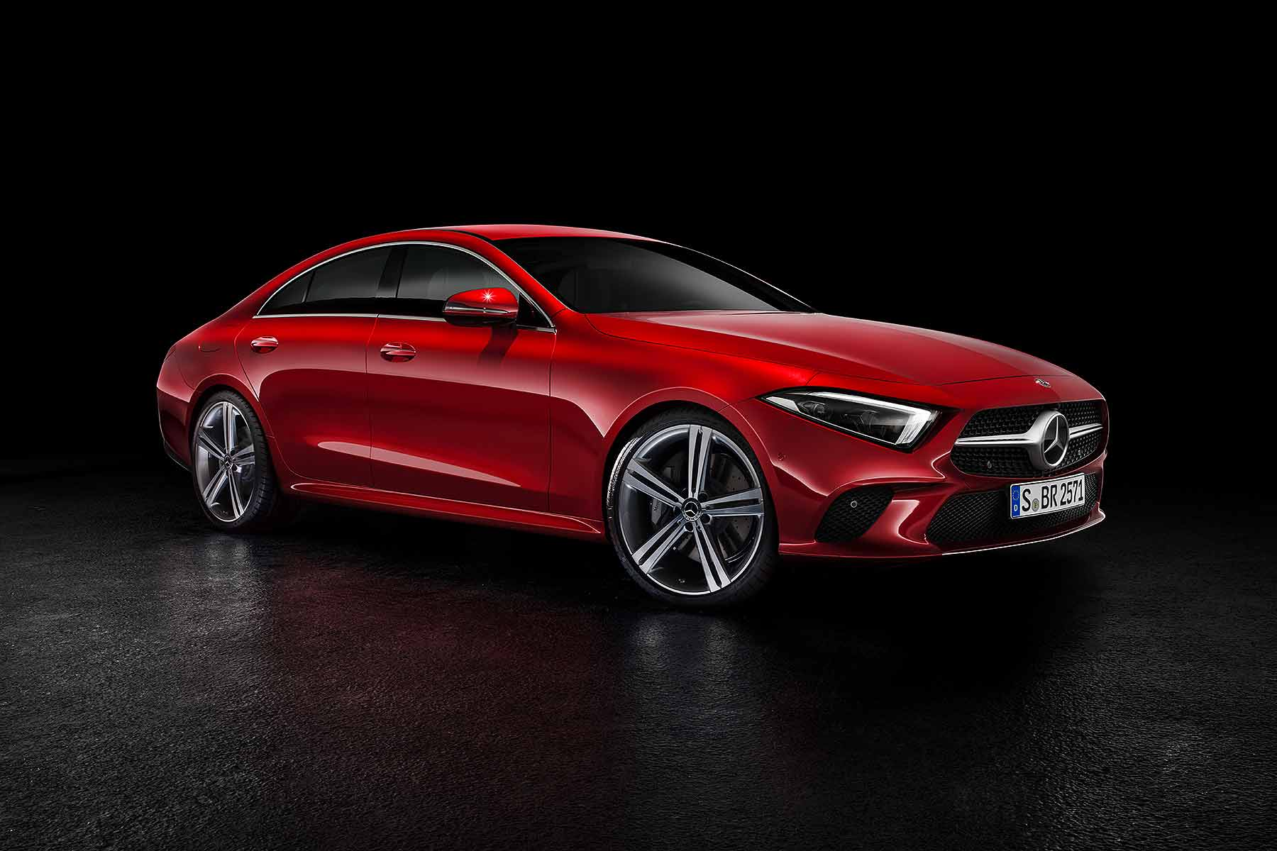 new 2018 mercedes benz cls revealed in la motoring research
