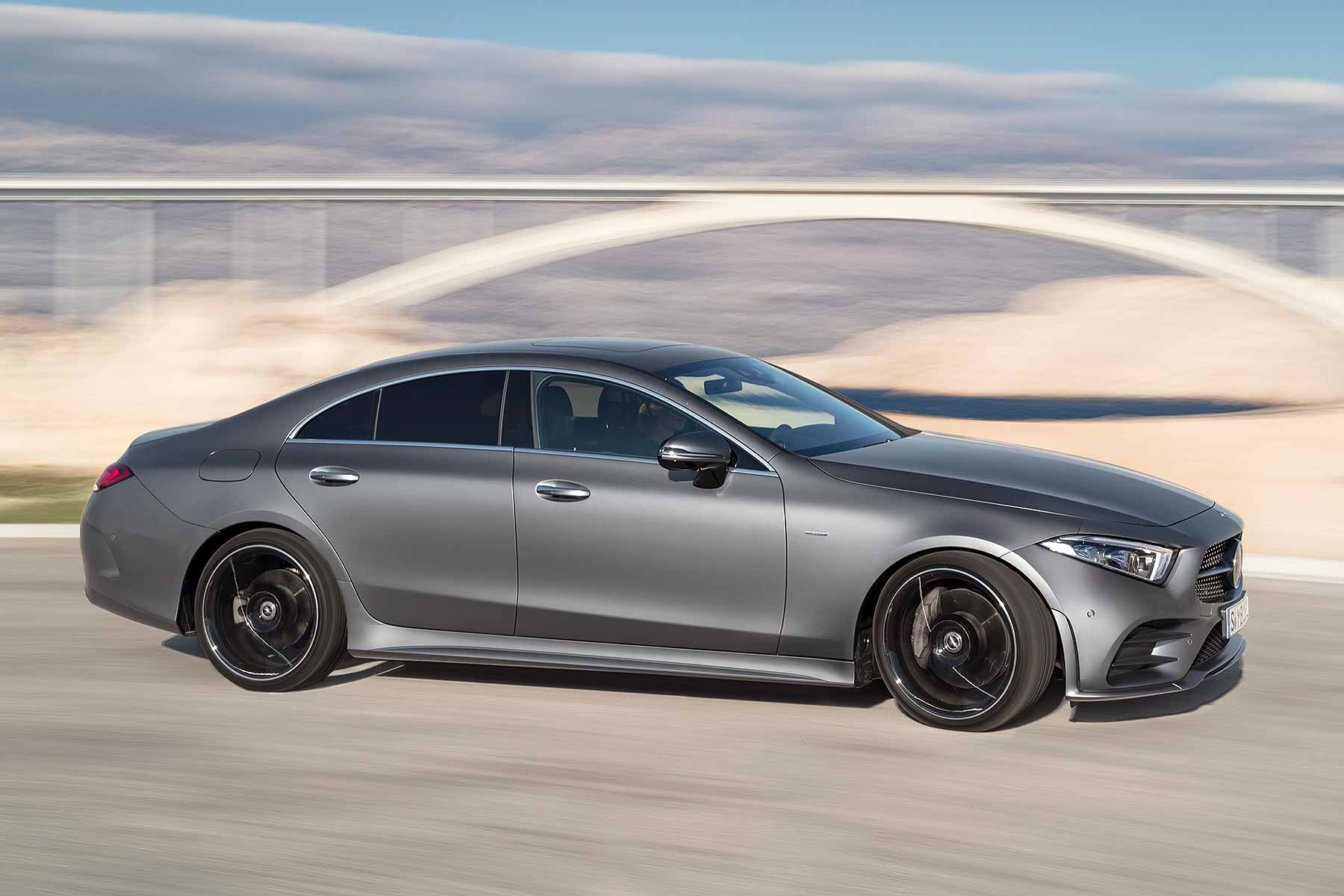new 2018 mercedes benz cls revealed in la motoring research. Black Bedroom Furniture Sets. Home Design Ideas
