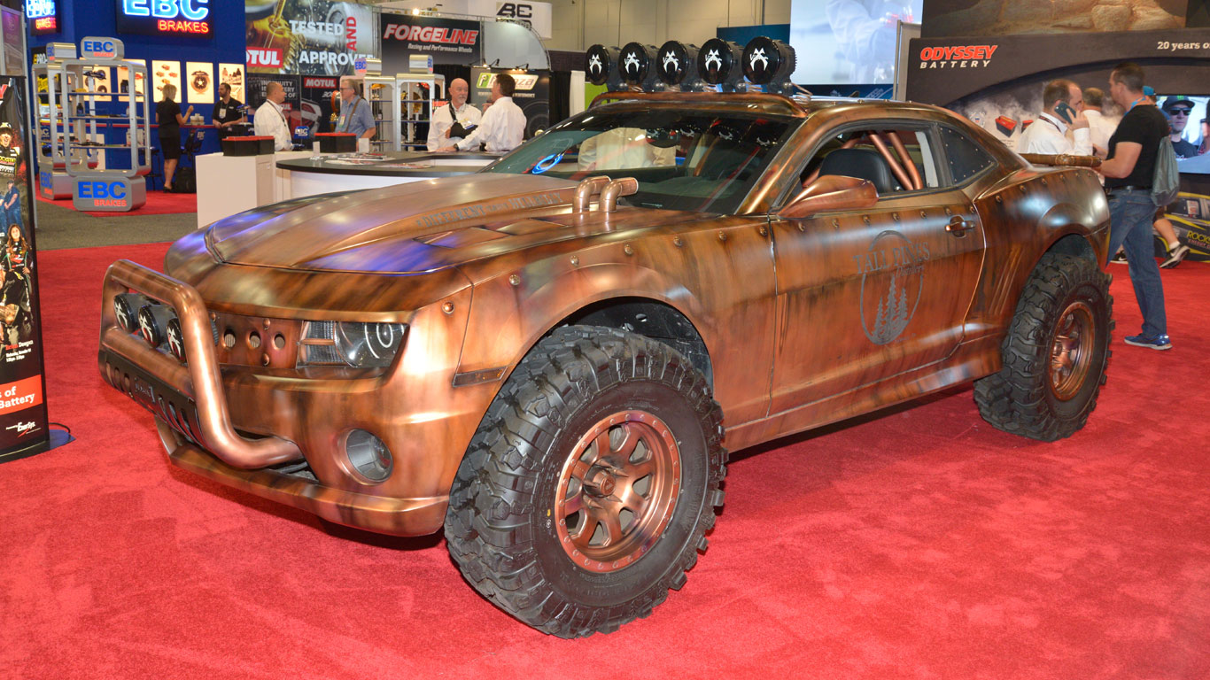 In pictures: the SEMA modified car show 2017 | Motoring Research