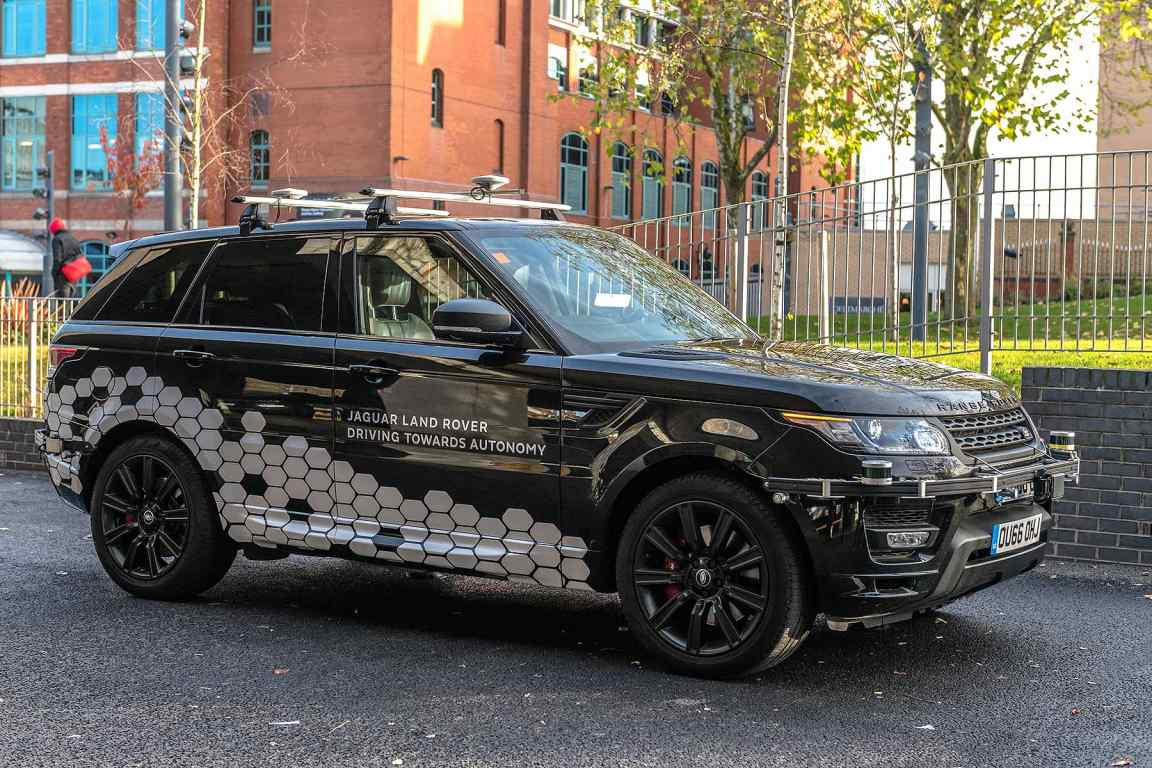JLR Autodrive self-driving cars