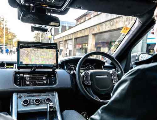 Self-driving cars go public on British roads