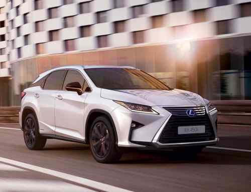 Lexus grows its Sport range with new RX 450h