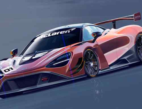 First look at McLaren's new track-focused supercar