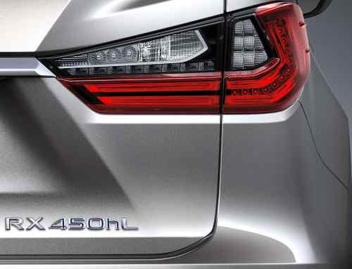 Lexus is launching a seven-seat RX