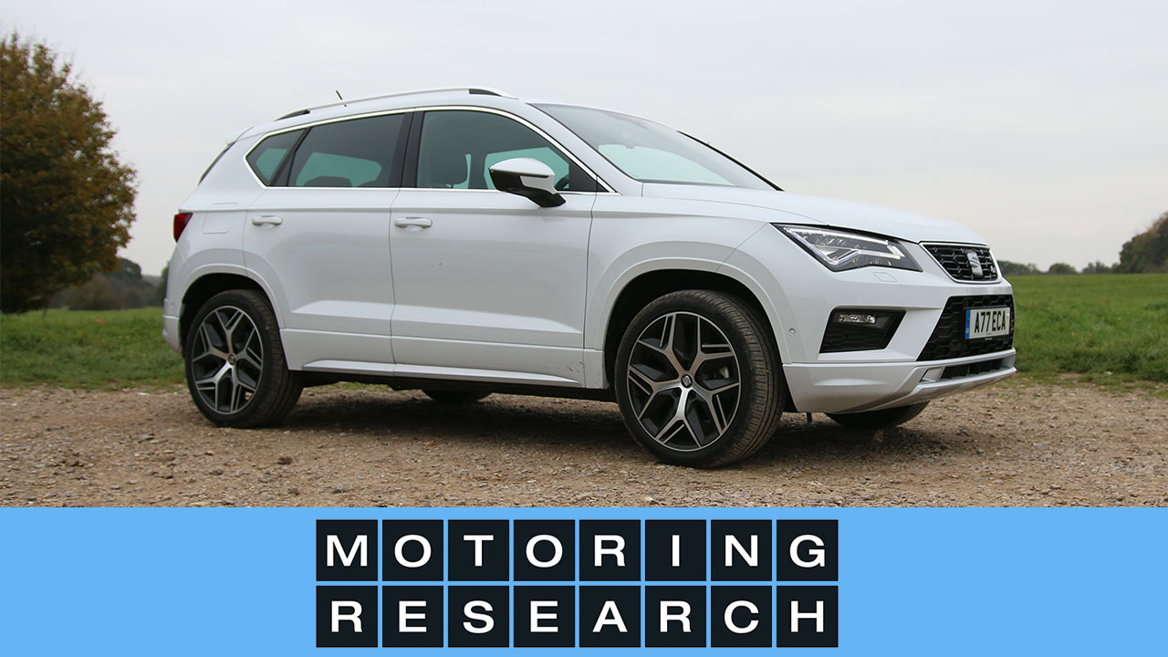 2017 seat ateca video review motoring research. Black Bedroom Furniture Sets. Home Design Ideas