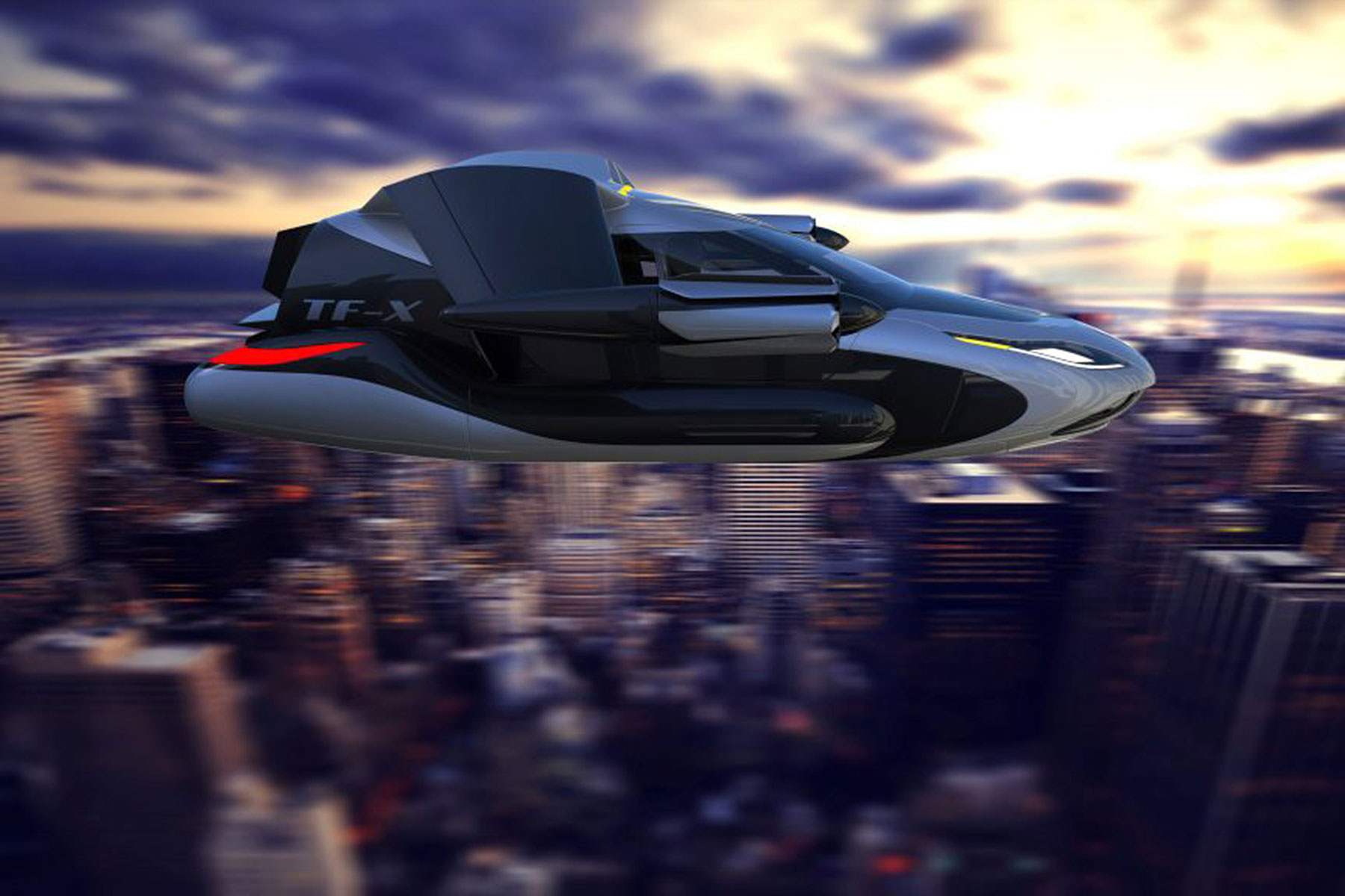 Terrafugia flying car