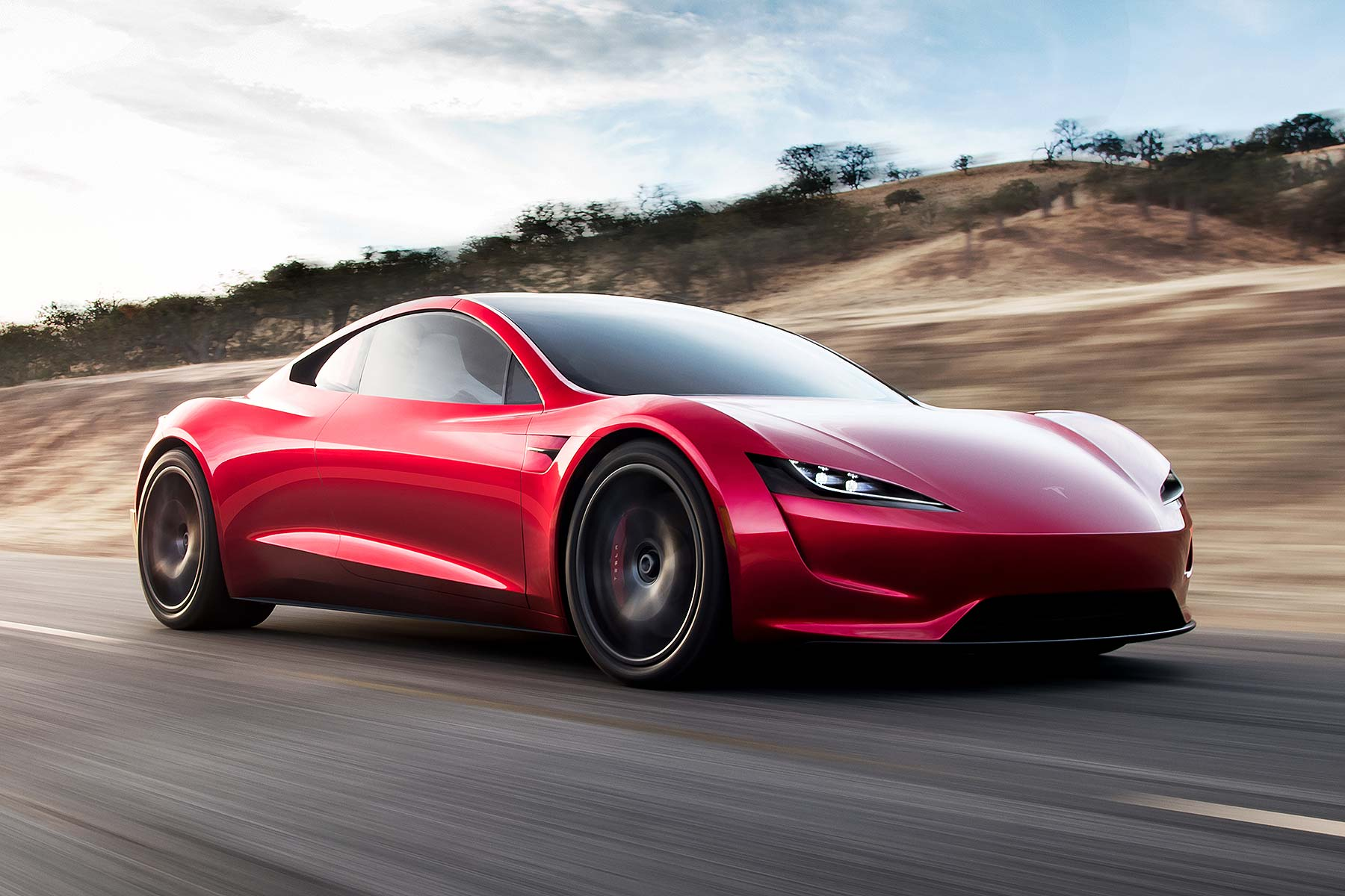 New 2020 Tesla Roadster