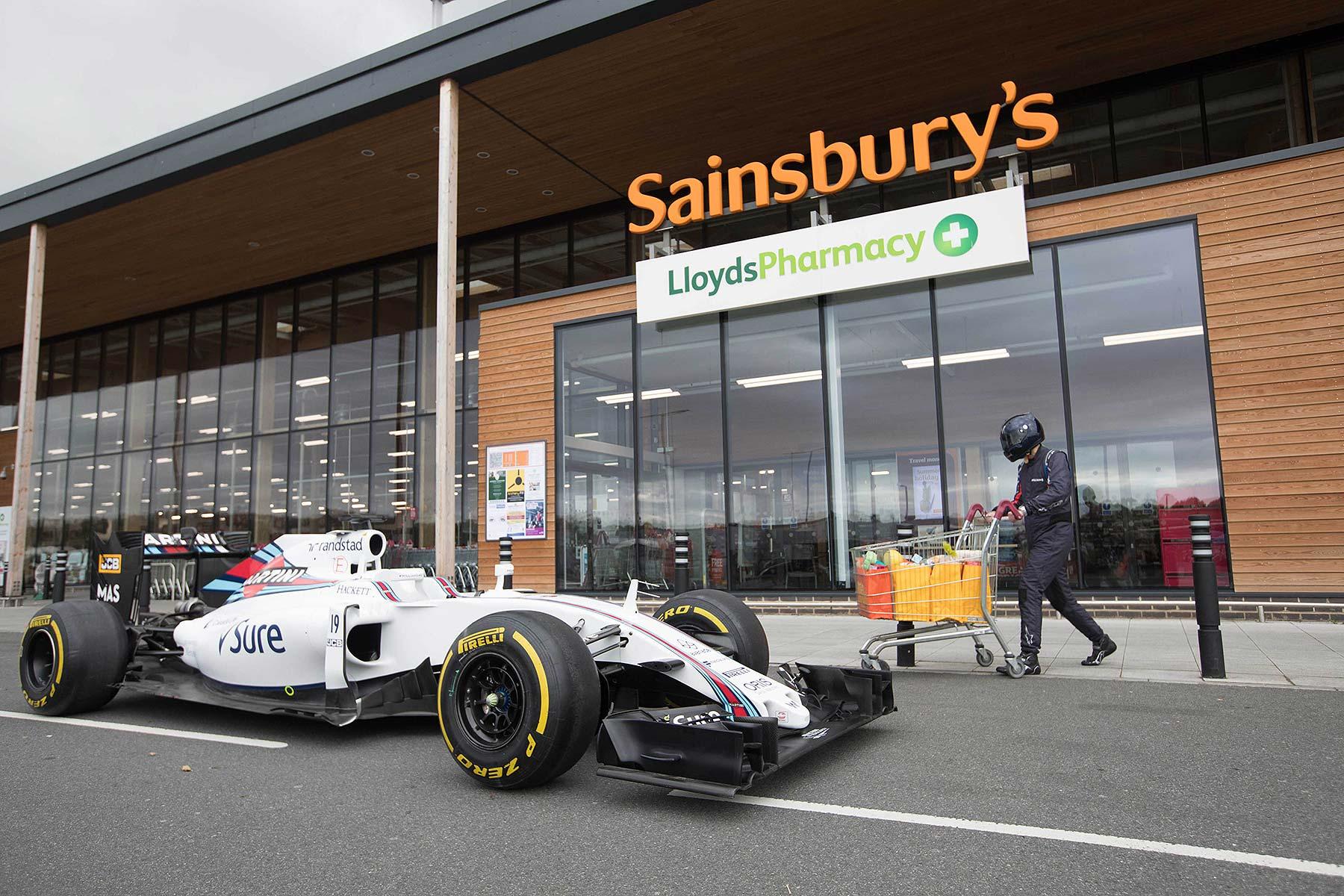 Williams F1 and Sainsbury's