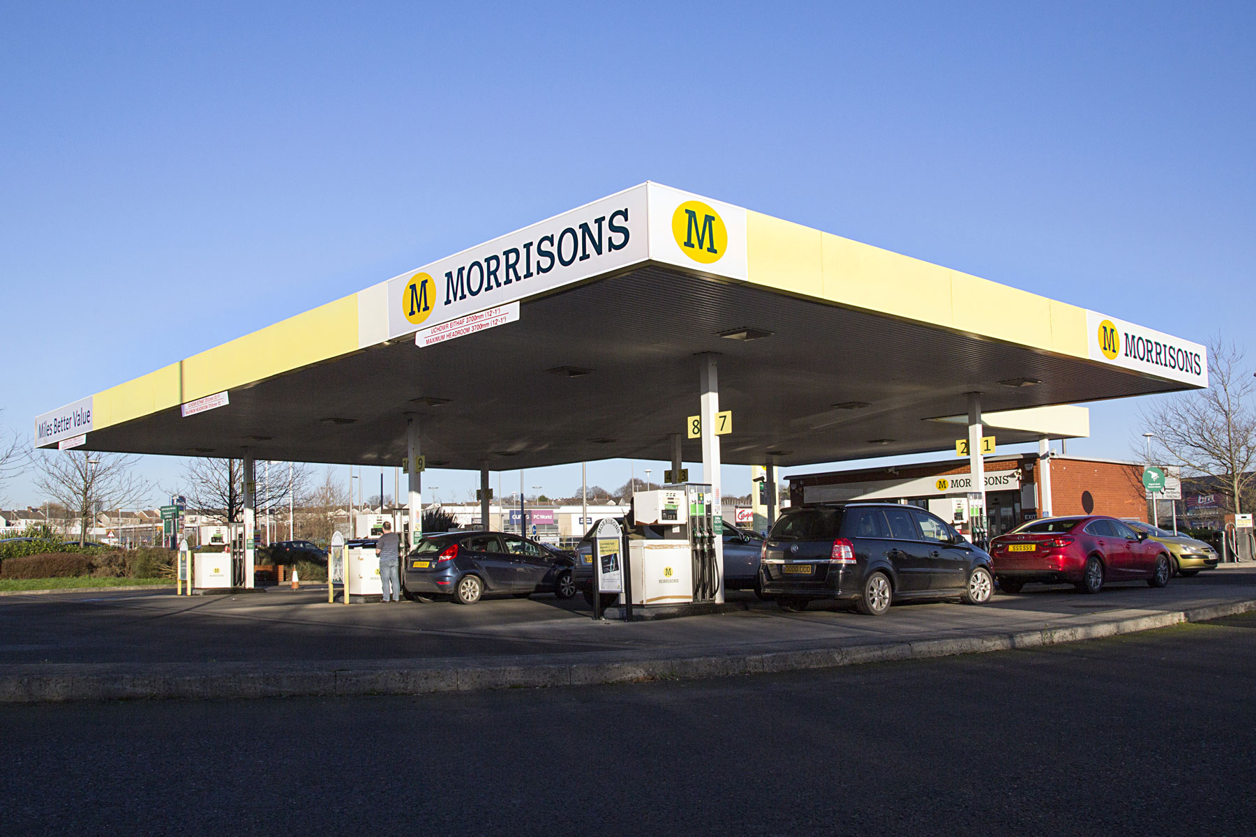 Morrisons slashes 10p off a litre of fuel –but there's a catch