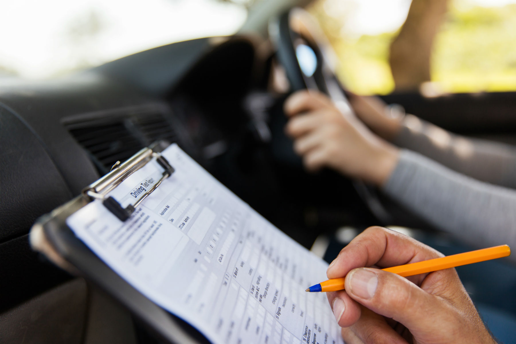 Why are driving test examiners striking?