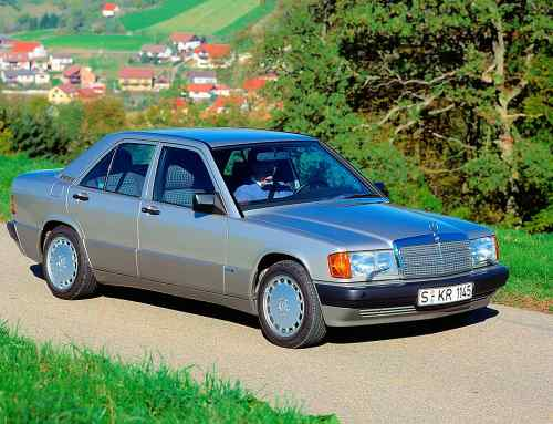 Mercedes-Benz 190: celebrating 35 years of a modern classic