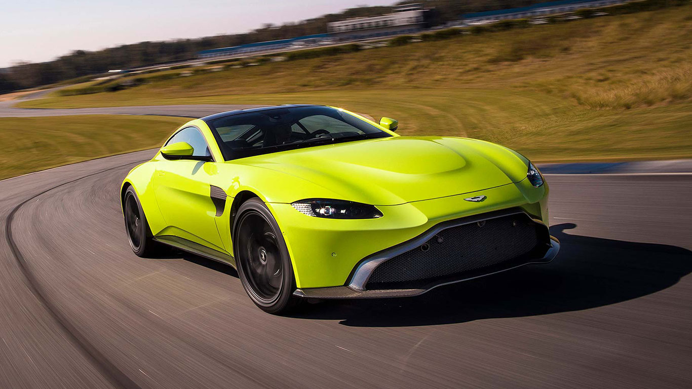 Aston Martin reveals its new Vantage