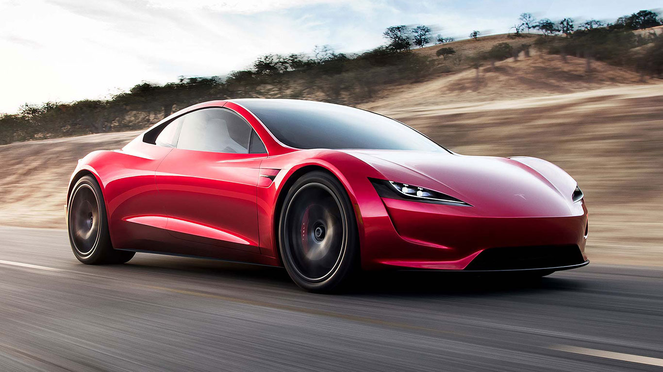 New Tesla hits 60mph in 1.9 seconds...