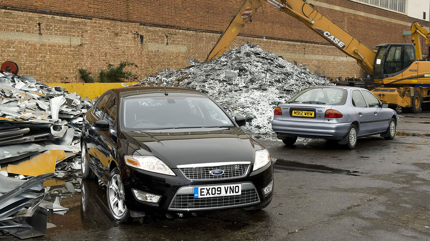 Carmakers launched scrappage schemes