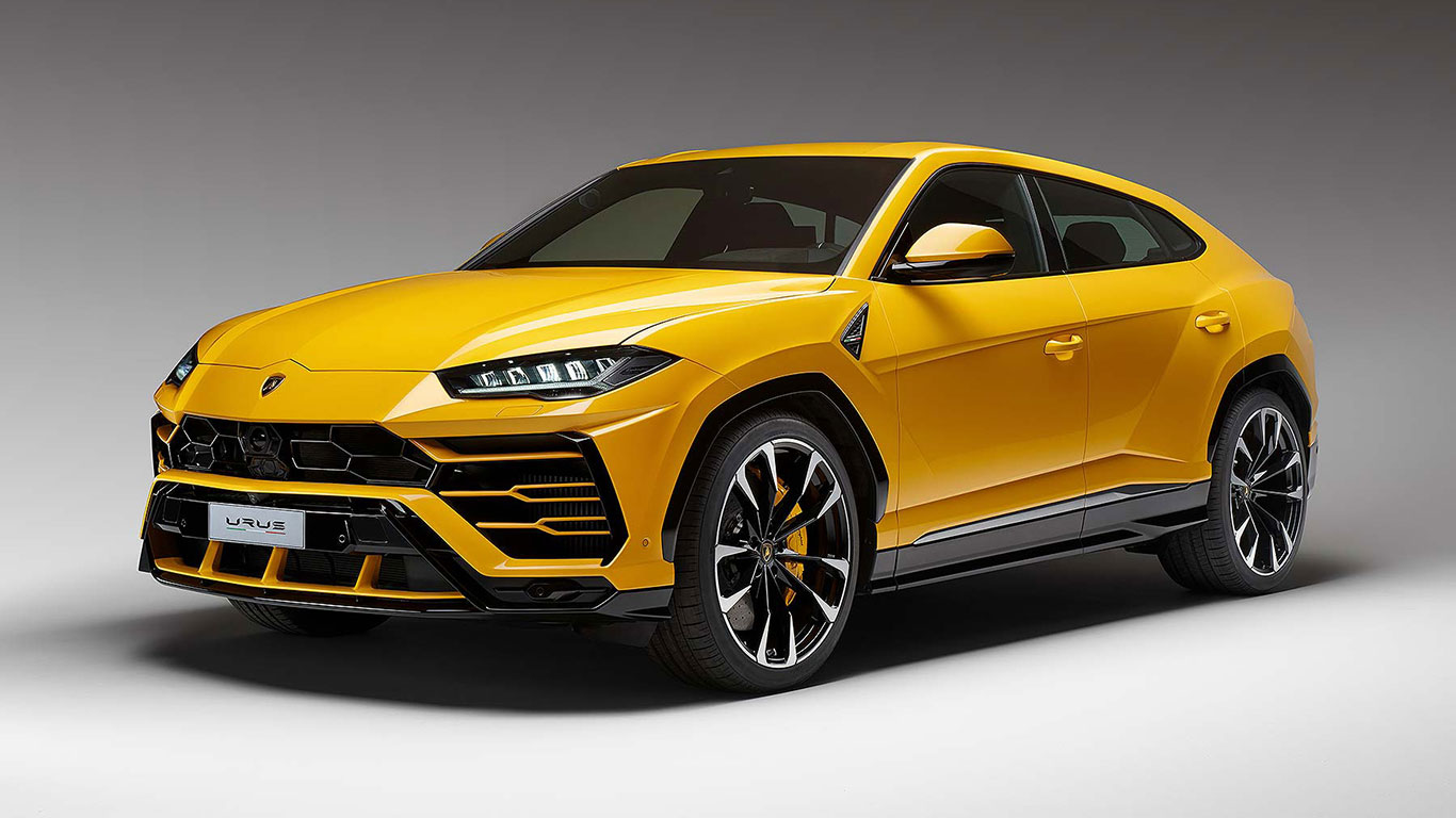 Lamborghini reveals a shocker of an SUV