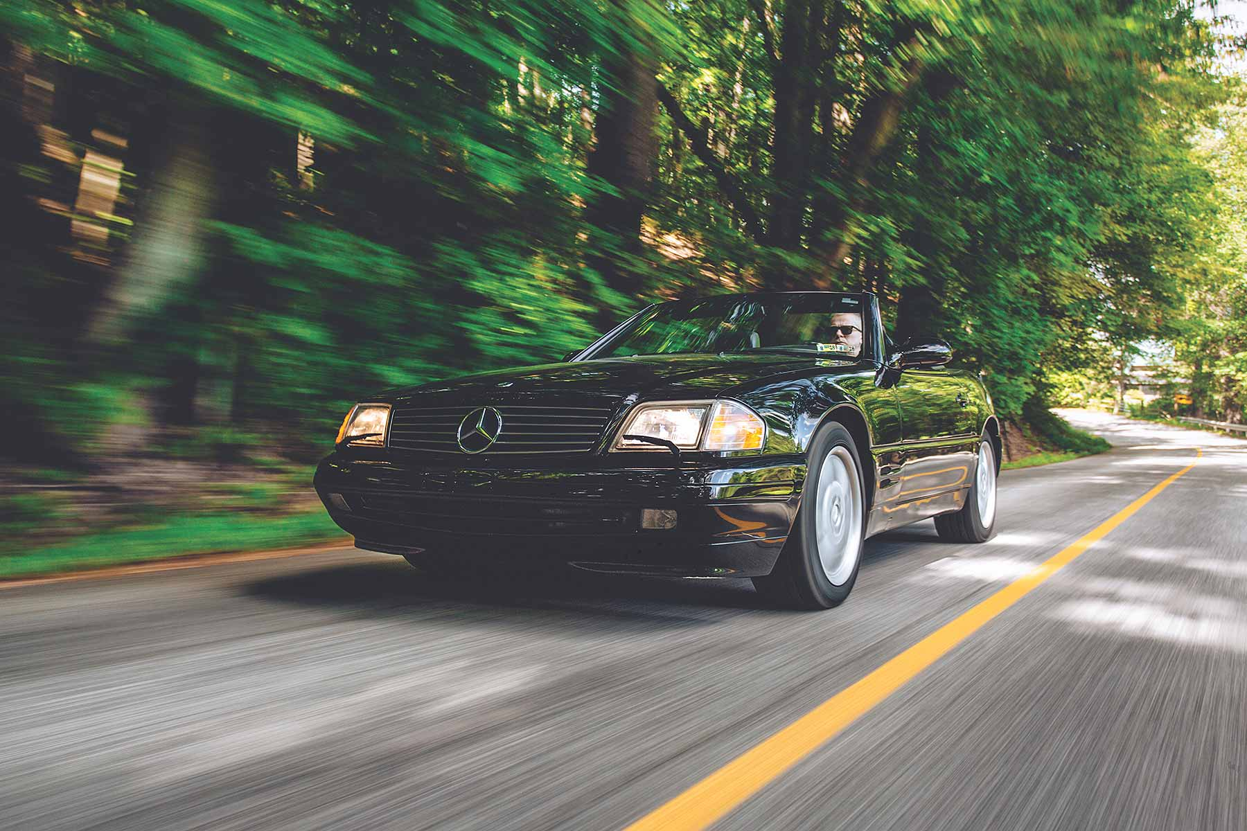 1989–2001 Mercedes-Benz SL