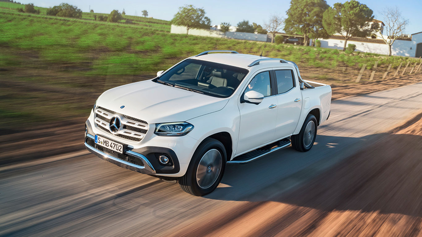 Mercedes-Benz launches a pick-up