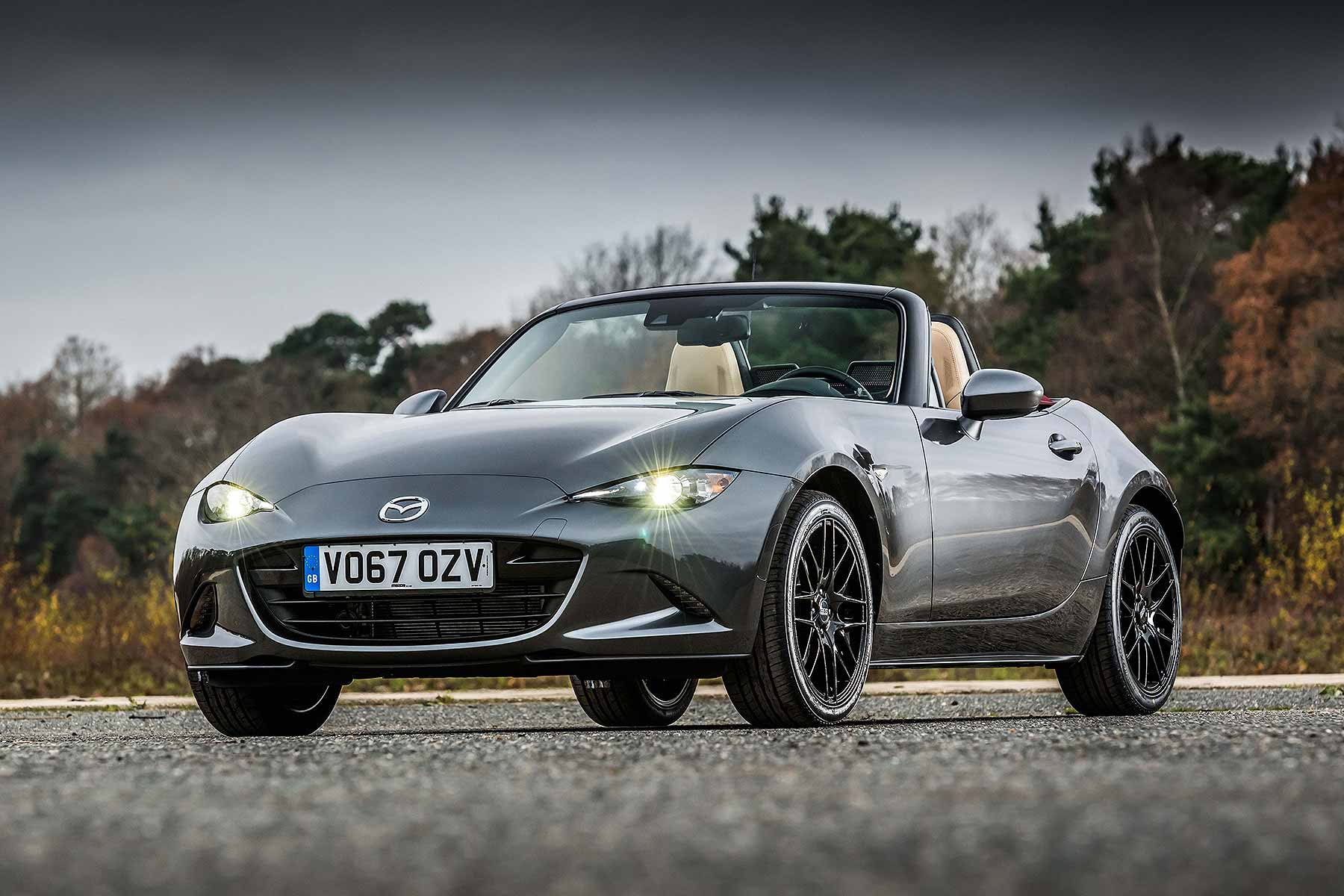new mazda mx 5 z sport limited edition costs 25 595 motoring research. Black Bedroom Furniture Sets. Home Design Ideas