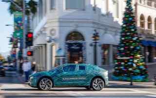 Jaguar I-Pace LA final testing