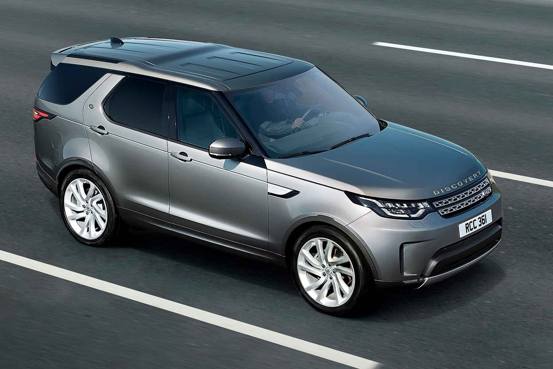 Land Rover Discovery Commercial 2018