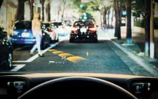 Lexus LS HUD