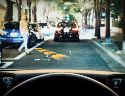New Lexus LS has the world's largest head-up display