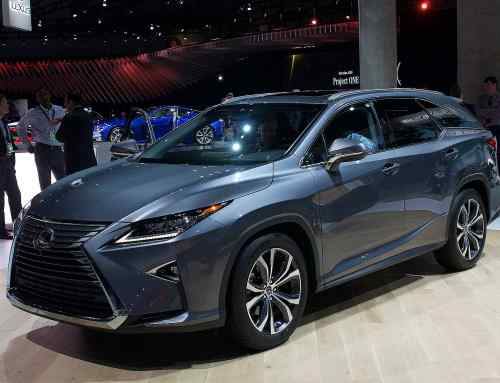 Lexus RX gains third row, additional safety at LA