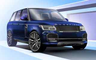 Overfinch Range Rover 2018 model year