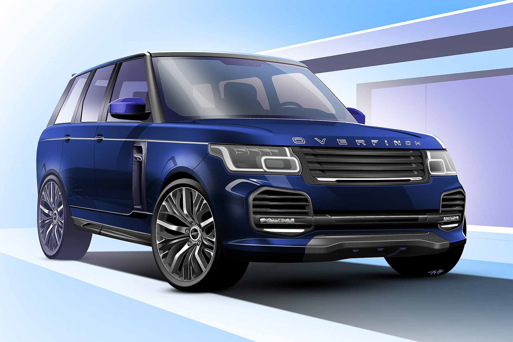 Will This Overfinch Be The Most Luxurious Suv Ever Built Motoring
