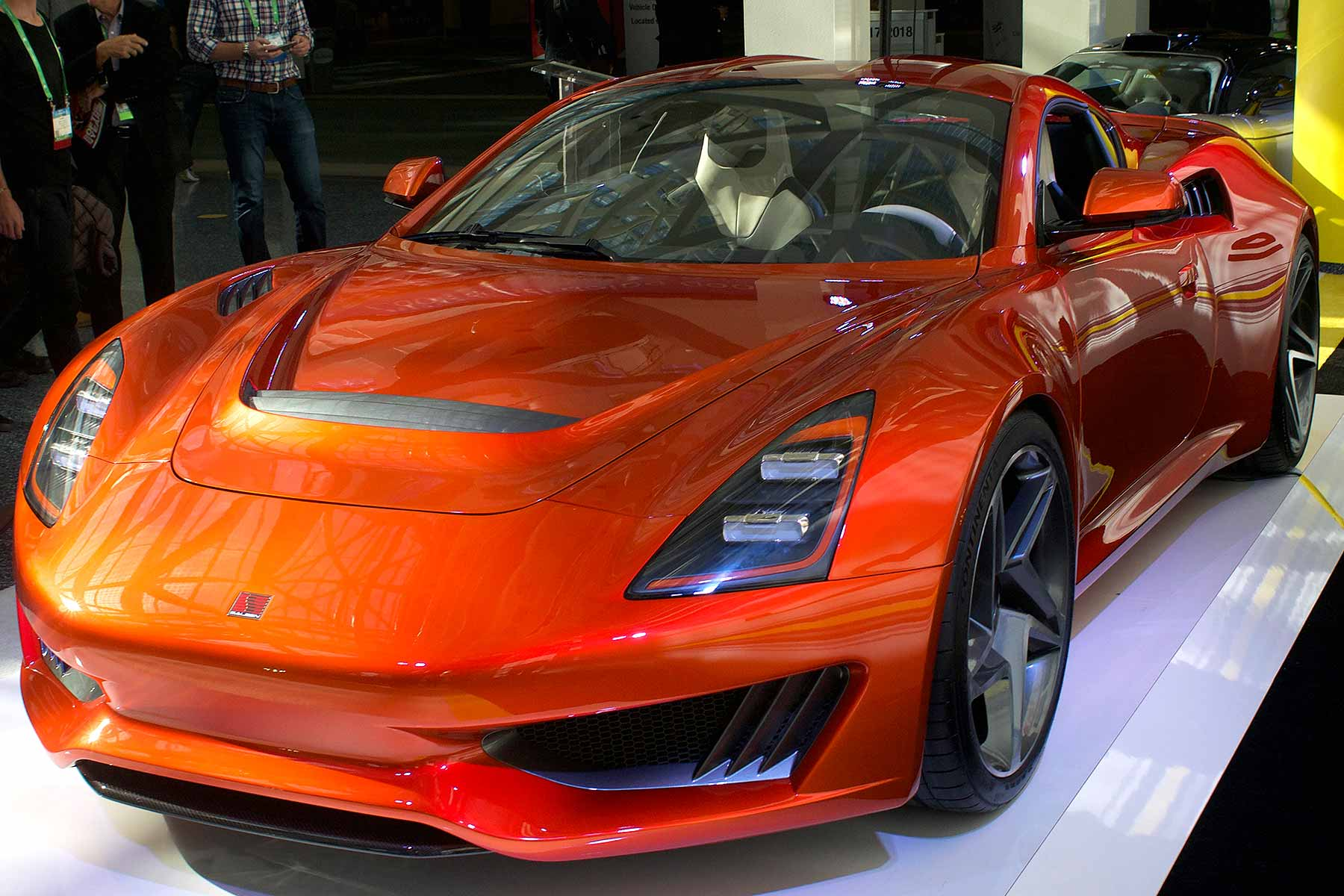 Saleen S1 LA Auto Show